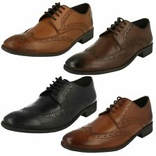 MENS CLARKS CLASSIC LEATHER LACE UP SMART FORMAL BROGUE WORK SHOES CHART LIMIT