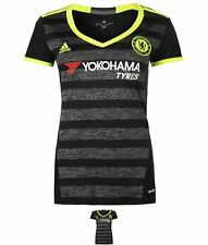 BRAND adidas Chelsea Away Camicia 2016 2017 Donna Black/Yellow