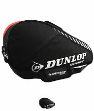 SPORTS Dunlop Mazza 3 Racchetta Borsa Black/Red