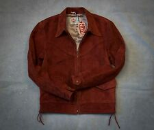 LVC Levi's Vintage Clothing Crimped Suede Leather Jacket BNWT 1940s western wear