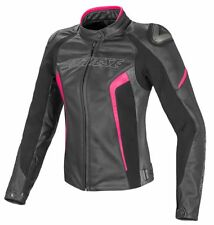 Dainese 2533697 Giacca Donna Giacca in pelle Moto RACING RACING D1 nero/fucsia