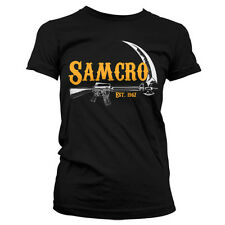 SONS OF ANARCHY SAMCRO 1967 camiseta mujer girlie-shirt official license