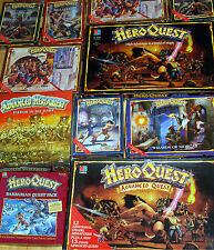 HeroQuest BoardGame / game expansion / box set etc. MB Games Workshop   select