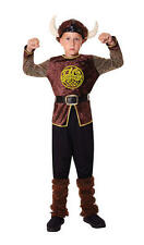 Childrens Viking Boy Fancy Dress Costume Saxon Outfit Childs Kids 6-10 Yrs