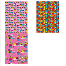 Mr Men Roll Wrap & Tags