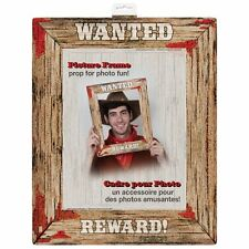 Rodeo Western Wanted Poster Photo Booth Prop