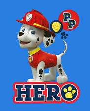 EXTRA LARGE - Paw Patrol 'PAWSOME' PREMIUM Coral Fleece Blanket Bed Throw Kids