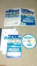 Wii Sports Resort 12 SPORTS (Nintendo Wii, 2009) GREAT CONDITION COMPLETE