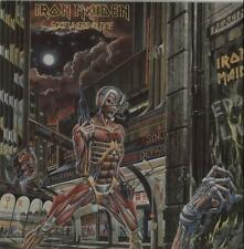Iron Maiden Somewhere In Time vinyl LP album record Indian EMC3512 EMI