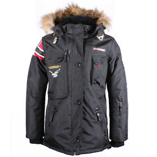 Geographical Norway Caramel Giacca Invernale Uomo Giacca Eskimo Invernale Nero
