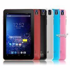 XGODY 9'' inch Android 4.4 KitKat A33 Quad Core 8GB Dual Camera Newest Tablet PC