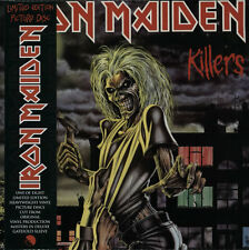 Iron Maiden Killers - Sealed UK picture disc LP vinyl album record 9728331 EMI