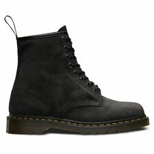 Dr.Martens 1460 8 Eyelet Soft Buck Graphite Womens Boots