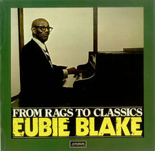 Eubie Blake From Rags To Classics vinyl LP album record UK SH8463