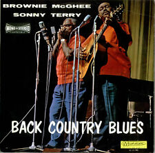 Sonny Terry & Brownie McGhee Back Country Blues French vinyl LP album record