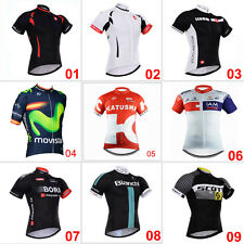 New Bicicletta Bici Ciclismo Abbigliamento Maglie Maillot Cycleing Jersey Shirt