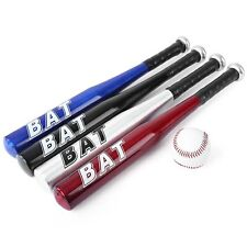KIT MAZZA DA BASEBALL PROFESSIONALE ALLUMINIO + PALLA SPORT SOFTBALL TOP 63 x 5