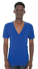 American Apparel Sheer Jersey V-Neck T Shirt
