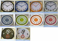 25cm/30cm Quartz Home Decor Wall Clock Office Kitchen Round Modern Bedroom Time