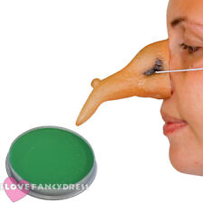 WITCHES NOSE AND GREEN FACE PAINT HALLOWEEN FANCY DRESS WITCH COSTUME ACCESSORY