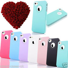 ULTRA THIN HARD CUTE HEART LOVE CASE FOR APPLE iPHONE 5S 5 SE COVER