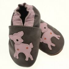 Chaussons fille Cuir Souple / BAMBI