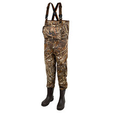 Prologic NEW Fishing Max5 XPO Camo Neoprene Waders with Cleated Sole
