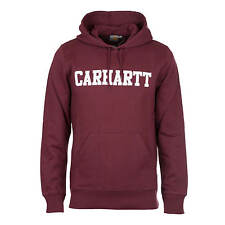 Carhartt Hooded College Sweat chianti - Herren College Hoodie aus French Terry