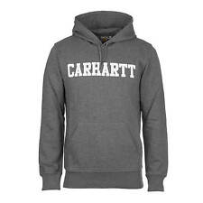 Carhartt Hooded College Sweat dark grey - Herren College Hoodie aus French Terry