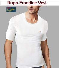 Rupa Frontline Premium White Half Sleeve Men Vest (Pack of 4)