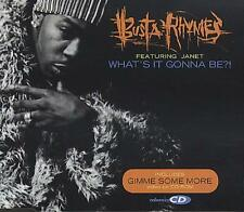 "Busta Rhymes What's It Gonna Be?! German CD single (CD5 / 5"") E3762CD2 ELEKTRA"