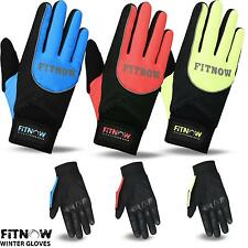 Winter Thermal Cycling Gloves Full Fingers Bike Windproof Bicycle Sports Glove