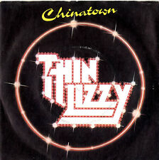 "Thin Lizzy Chinatown - P/S 7"" vinyl single record UK LIZZY6 VERTIGO 1980"