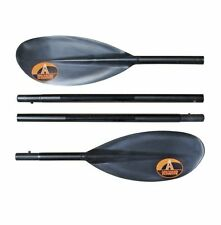 Advanced Elements Packlite 4-Part Paddle Pagaia per Kayak, Nero