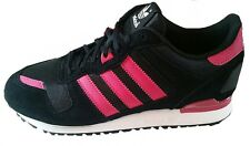 Adidas Mens ZX 700 Trainers M18960 Black/Pink/White Lace up UK 6-7.5 Leather New