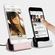USB Dock Caricabatteria Stand Station Cradle Sync Charging For Apple iPhone iPad