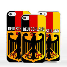 Cover bandiera Germania Stemma Bundeswappen per iPhone X 8 7 6 5 4 S C SE Plus