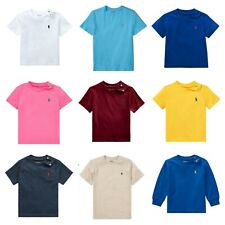 Ralph Lauren Polo authentic baby boys small pony t shirt cotton 9,12,18,24 m