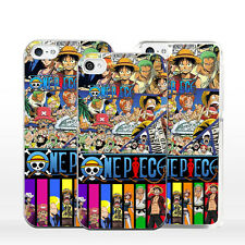 Custodia ONE PIECE per iPhone X 8 7 6 5 4 S C SE Plus Mascherina Cover PIRATI