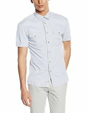 Celio Dalarmy, Chemise Casual Homme, Blanc, 40 (Taille Fabricant: L)