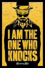 Breaking Bad Poster I am the one who knocks -