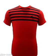 New w/Tag Abercrombie A & F Crew Neck Men T Shirt Size M - XL Cotton RED