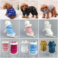 Pet Coat Dog Jacket Winter Warm Clothes Puppy Cats Sweater Coat Clothing Apparel