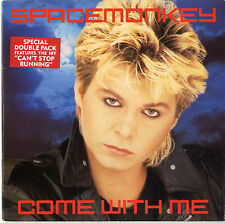 """Space Monkey Come With Me - Doublepack UK 7"""" vinyl single record IVSD5"""