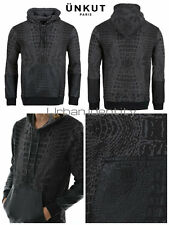 SWEAT UNKUT CROCO NOIR