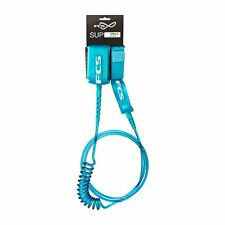 FCS Surfboard Leashes - FCS Sup Regular Ankle Surf  - Teal