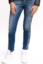 Liu Jo - Bottom up Precious, Demin Jeans, Jeanshose, blau