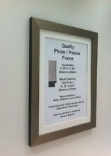 Photo Picture Frame D Silver 28mm Fit 13x18 13x19 13x20 13x21 13x22 13x23 PERSPX