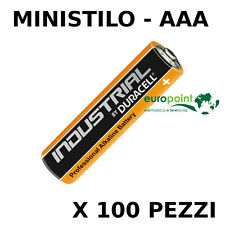 Stock batterie Duracell Industrial Procell pile Alcaline Ministilo AAA LR03