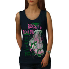 Rock and Rollers Fun Skate Shoes Women Tank Top S-2XL NEW | Wellcoda